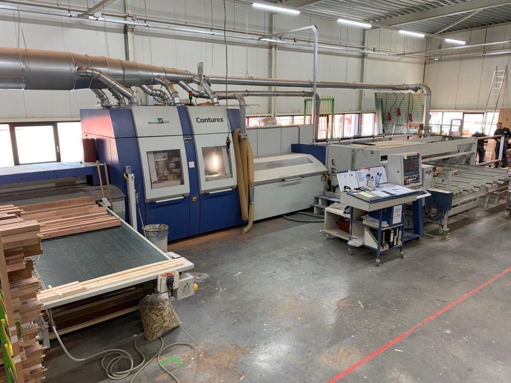 Eén van onze Weinig Conturex CNC-gestuurde bewerkingsmachines.